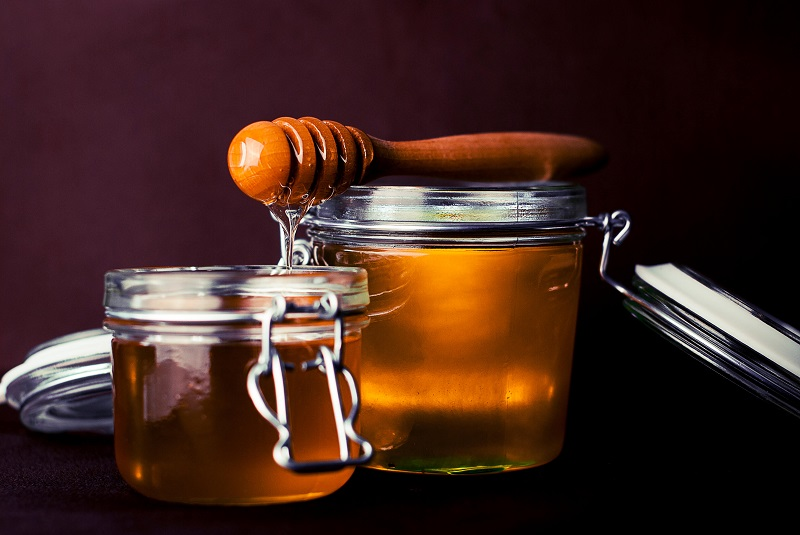 how to get rid of chicken skin with honey