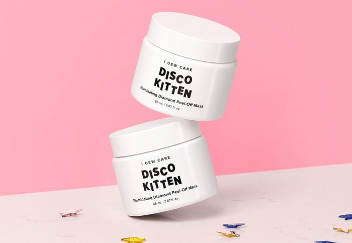 I Dew Care Disco Kitty mask