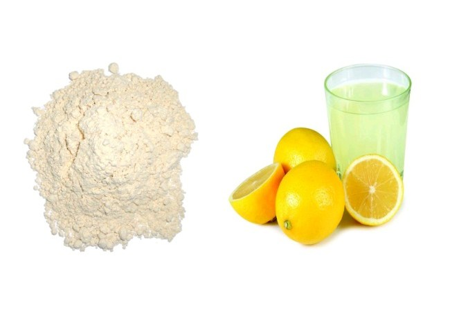 How to lighten your skin naturally with lemon juice and flour