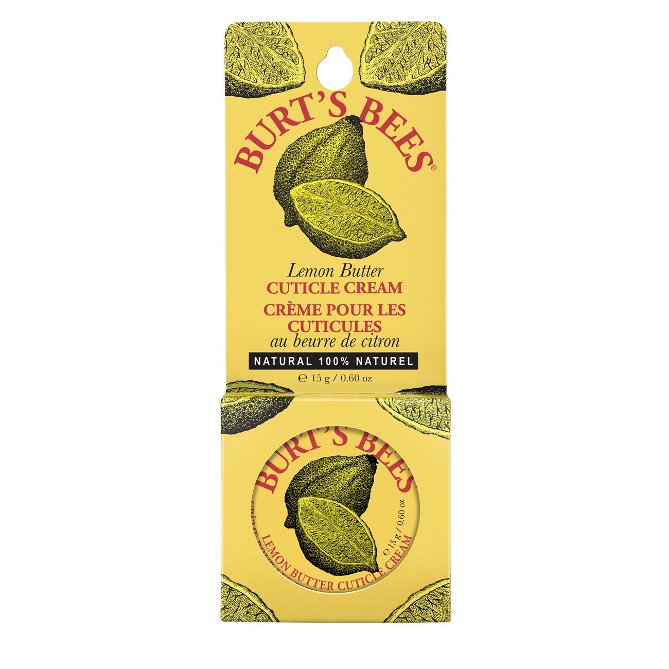 Burt's Bees 100% Natural Lemon Butter Cuticle Cream​